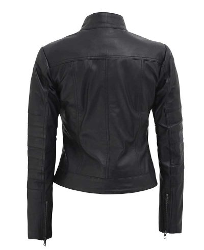 Cafe Racer Jacket womens quilted