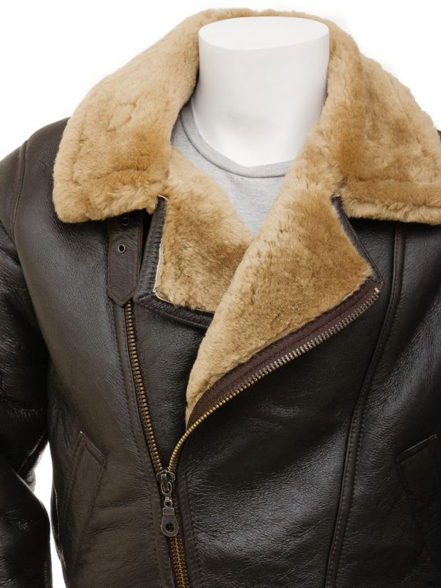 asymmetrical leather jacket men
