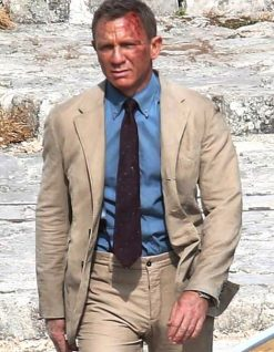 James Bond Khaki Suit No Time To Die