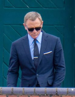Navy Blue Suit James Bond No Time To die
