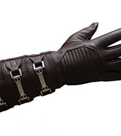 Leather gloves gauntlet skywalker