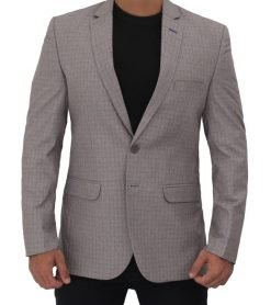 herringbone suit jacket coat for men