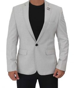 light grey mens sports coat