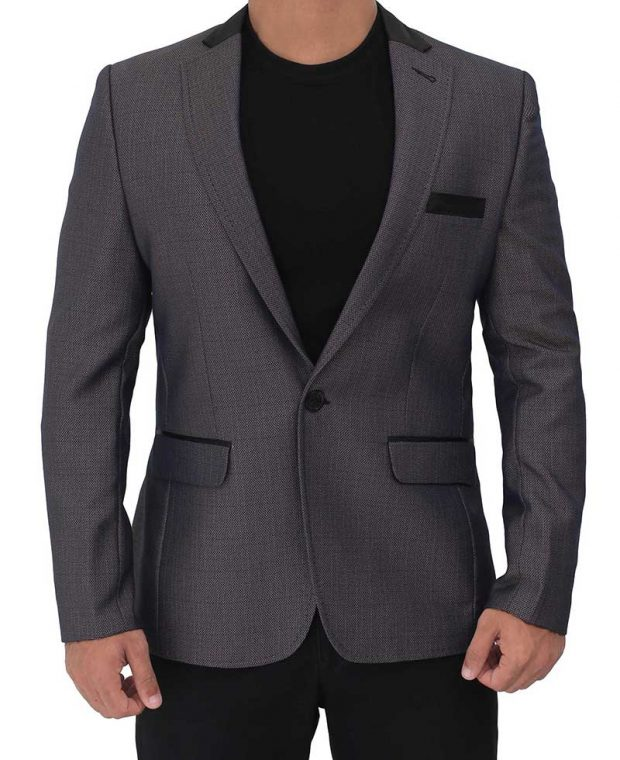 mens purple blazer jacket