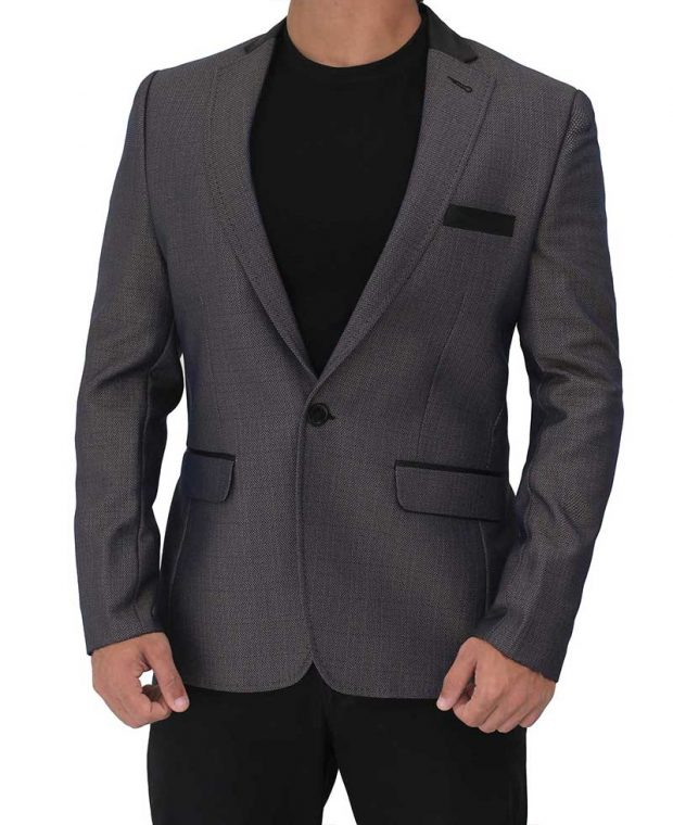 purple sport coat blazer