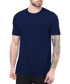 Navy Blue T shirt for Men