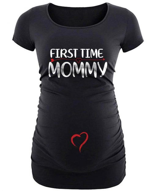 Prengnancy first time mommy shirt