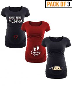 womens pregnancy shirts pack