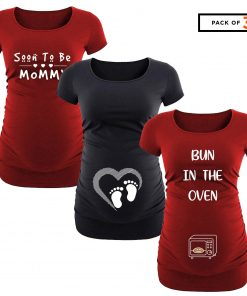 Maternity Shirt Pack of 3
