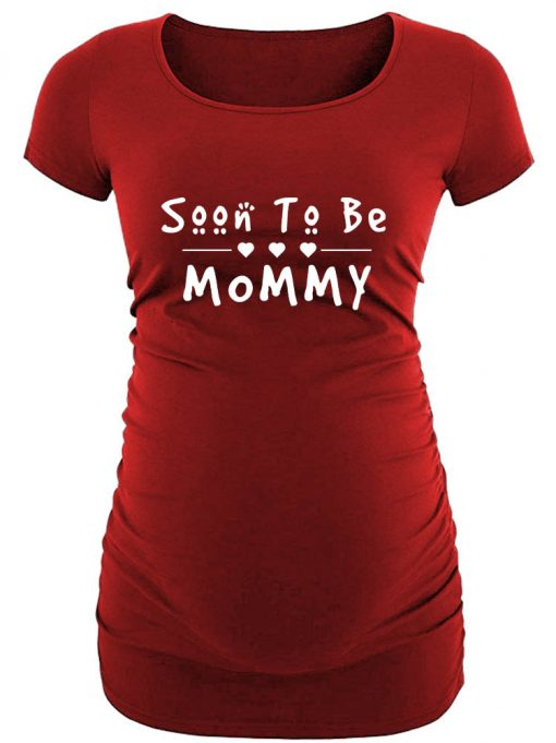 Soon to be Mommy 2 maternity T shirt