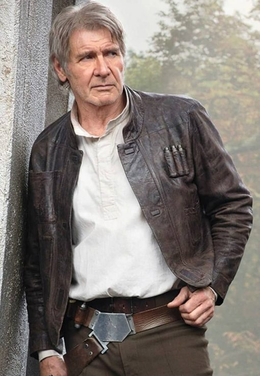 Star wars Han solo white shirt