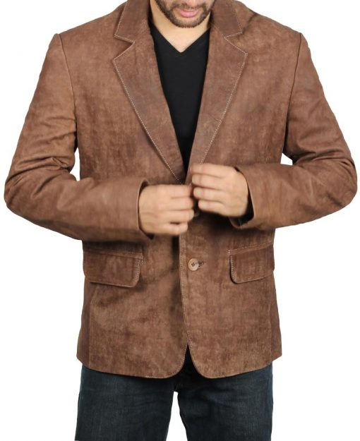 sports jacket leather coat