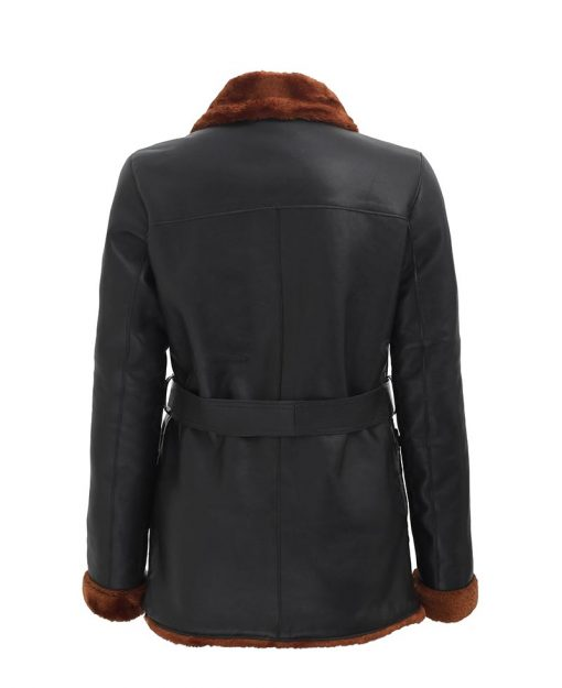 quarter length winter coat for women