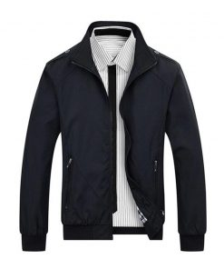 Cotton Bomber Jacket Men