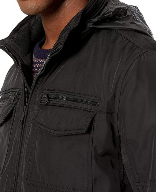 Cotton bomber jacket men G4