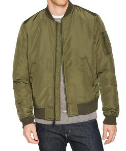 MA1 Bomber Jacket Men green