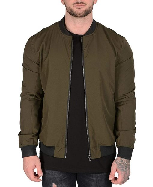 Men Lightweight bomber jacket