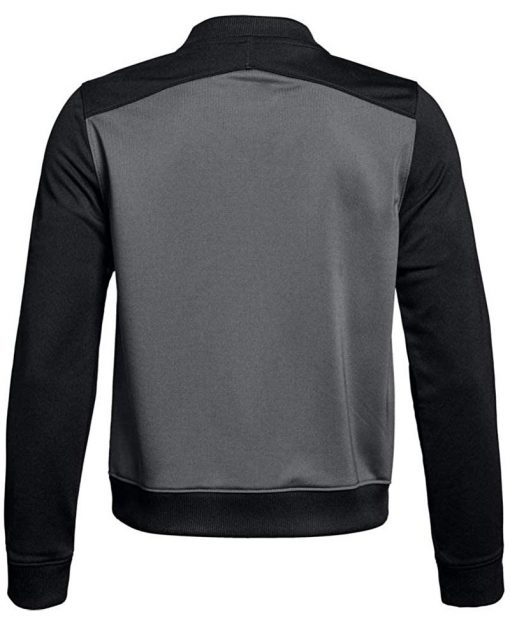 Mens Track Jacket black and grey