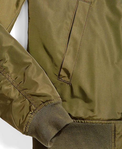 army green bomber jacket men