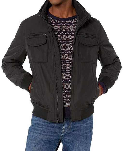 black bomber G4 Jacket men