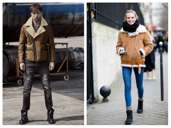 Brown Leather Jackets With Fur