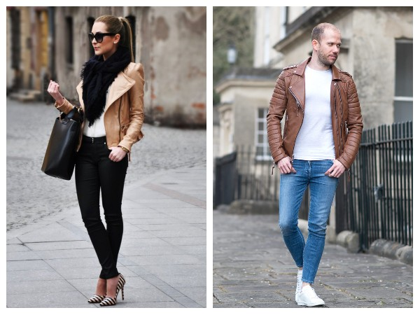 Brown Motorcycle Leather Jackets