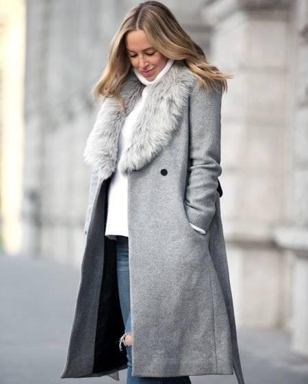 women winter wool coat