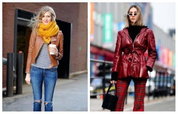 Women Winter Leather Jackets fall